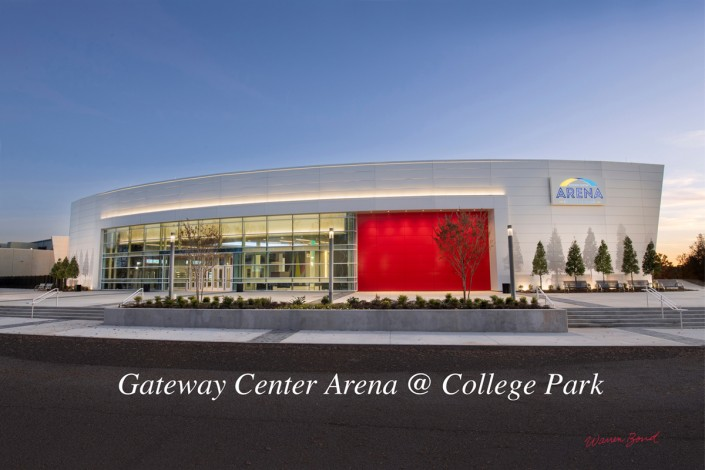 Gateway Center Arena in College Park