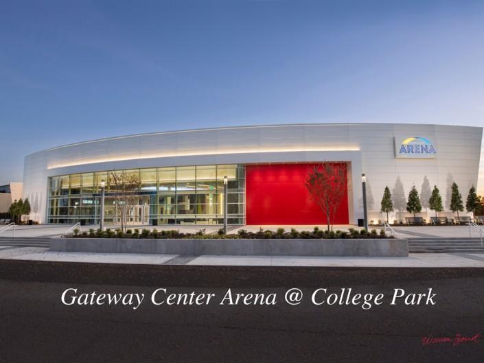 Gateway Center Arena in College Park